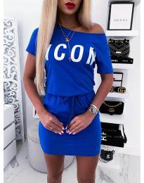 Haljina - kod 9905 - plava