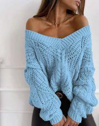 Bluza - kod 1637 - plava
