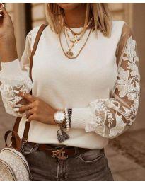Bluza - kod 4210 - bijela