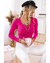 Bluza - kod 1582 - 3 - boja ciklame