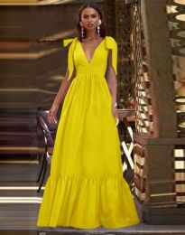 Haljina - kod 2743 - žuta