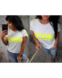Majica - kod 474 - 2 - bijela