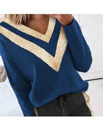 Bluza - kod 2190 - 3 - plava