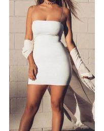 Haljina - kod 3687 - bijela