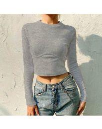 Bluza - kod 1124 - siva