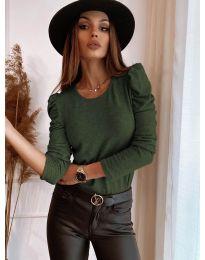 Bluza - kod 9556 - zelena