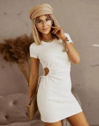 Haljina - kod 8556 - bijela