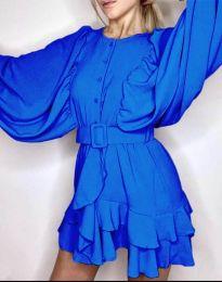 Haljina - kod 6299 - plava