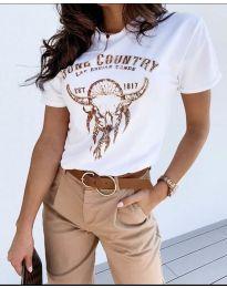 Majica - kod 428 - 1 - bijela