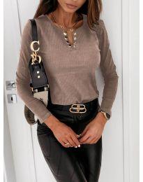 Bluza - kod 4175 - smeđa