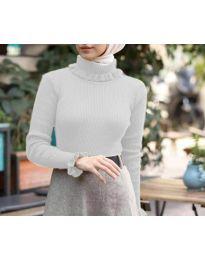Bluza - kod 6556 - bijela