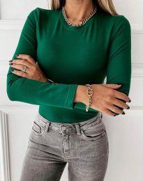 Bluza - kod 4863 - zelena