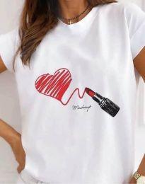 Majica - kod 9985 - bijela