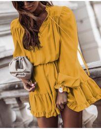 Haljina - kod 3231 - žuta