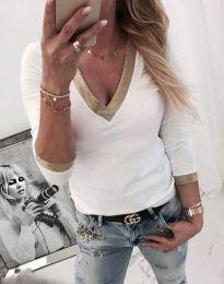 Bluza - kod 3149 - 2 - bijela