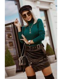 Bluza - kod 8861 - 11 - zelena