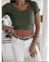 Majica - kod 530 - maslinasto zelena