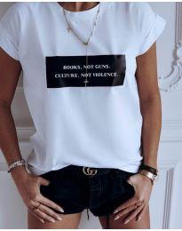 Majica - kod 479 - 1 - bijela