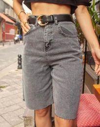 Kratke hlače - kod 2448 - 1 - siva