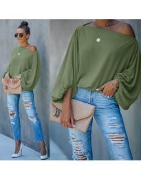 Bluza - kod 5151 - maslinasto zelena