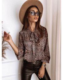 Bluza - kod 6160 - smeđa