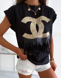Majica - kod 4713 - crna
