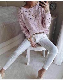 Bluza - kod 6182 - roze