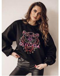 Bluza - kod 5956 - crna