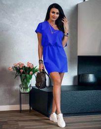 Haljina - kod 3214 - plava