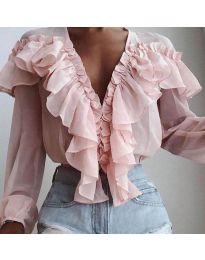 Bluza - kod 6390 - roze