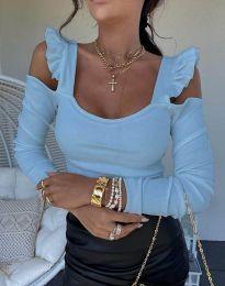 Bluza - kod 2380 - svijetlo plava