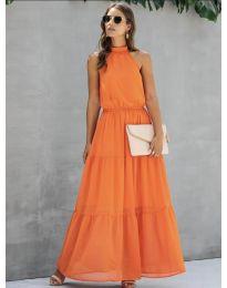 Haljina - kod 8855 - narančasta