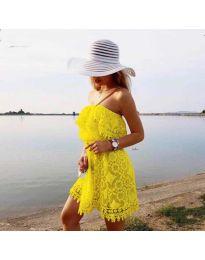 Haljina - kod 4849 - žuta
