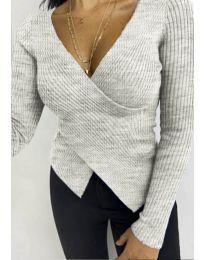 Bluza - kod 6322 - siva