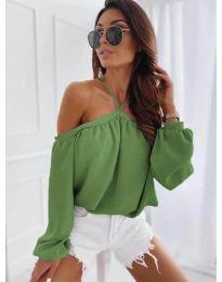 Bluza - kod 6561 - zelena
