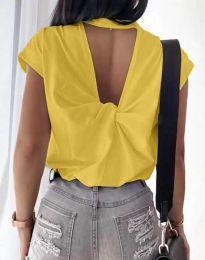 Majica - kod 4515 - žuta