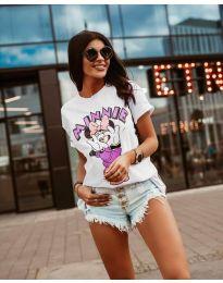 Majica - kod 684 - bijela