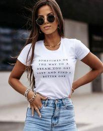 Majica - kod 4460 - bijela