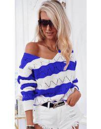 Bluza - kod 8689 - plava