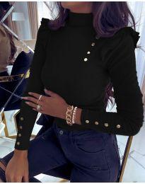 Bluza - kod 11483 - 1 - crna