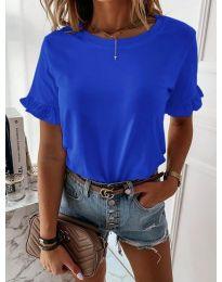 Дамска тениска в син цвят - код 068