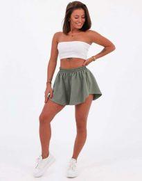 Kratke hlače - kod 11979 - maslinasto zelena