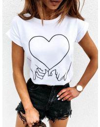 Majica - kod 2266 - bijela