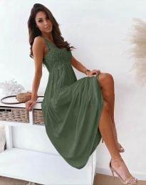 Haljina - kod 4807 - maslinasto zelena