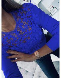 Bluza - kod 6660 - tamno plava