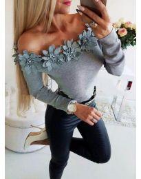 Bluza - kod 2882 - siva