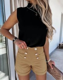 Kratke hlače - kod 6815 - smeđa