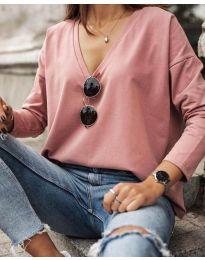 Bluza - kod 3574 - roze