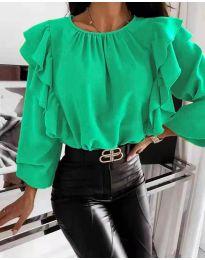Bluza - kod 4445 - zelena