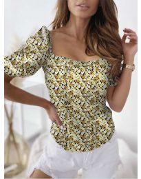 Bluza - kod 9897 - žuta
